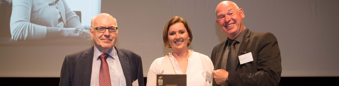 Ann-Sofie wint de Real Estate Award 2015